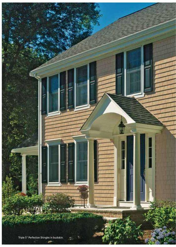 Cedar Impressions Siding Brochure Colonial Exterior Exterior House Siding House Exterior