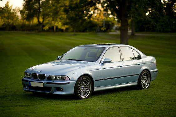 4th Gen BMW 5-Series...one of my all time favs
