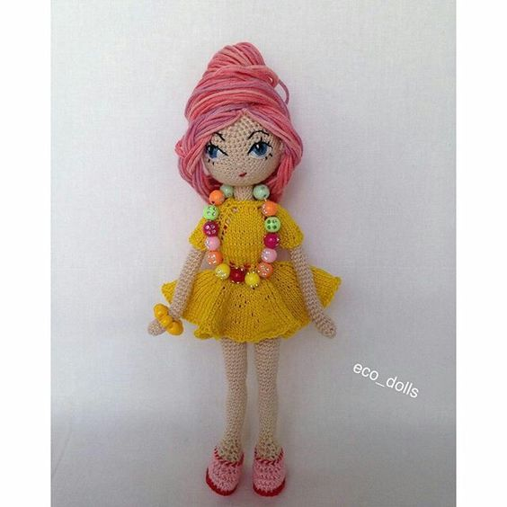 Hair On Amigurumi : Amigurumi doll, Amigurumi and Hair on Pinterest