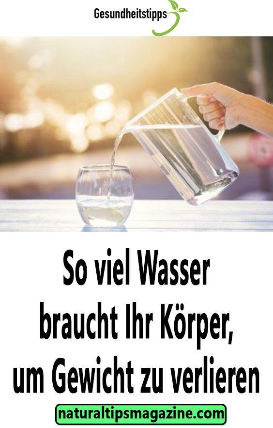 Wie viele Gläser Wasser zu trinken, um Gewicht zu verlieren