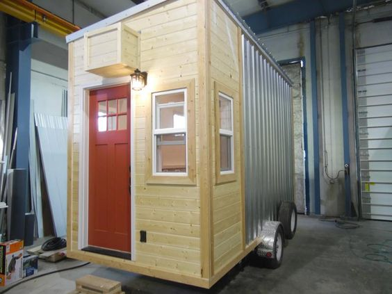 Tiny Homes For Sale and Listed for You to View From Tiny House Builder.    6x14  $15k