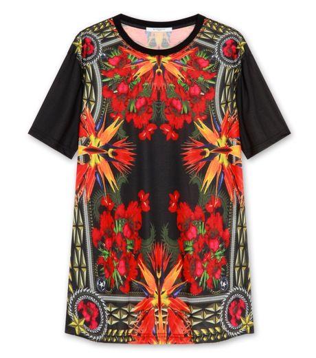Givenchy  Iris print t-shirt