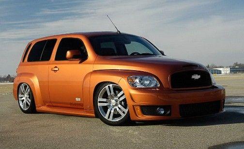 Pin By Jeff Helmick On Hhr In Orange Chevy Hhr Chevrolet Chevy