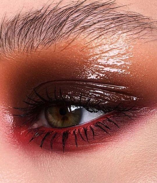 Pink Aesthetic And Eyes Bild Aesthetic Makeup Aesthetic Eyes