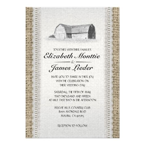 See MoreCute Farm Wedding Invitations CardsWe provide you all shopping site and all informations in our go to store link. You will see low prices on