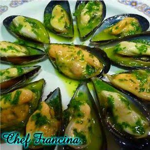 Cocinar es fácil con Chef Francina: Mejillones al vapor con pesto especial.