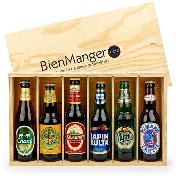 Caisse de bières Tour du Monde
