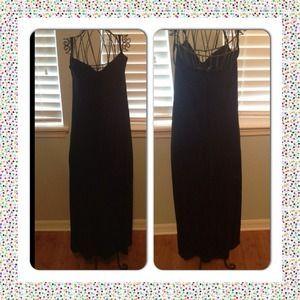 Betsey Johnson black Dress size P