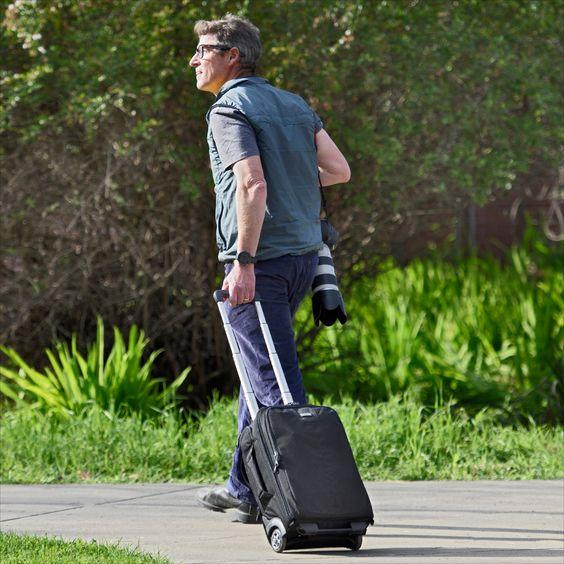 Essentials Convertible Rolling Backpack | Rolling backpack, Backpacks,  Camera backpack