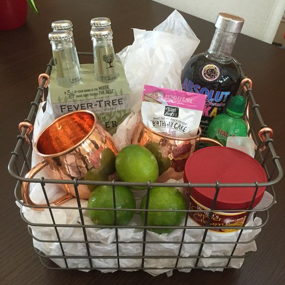 Fundraiser Gift Ideas: Moscow Mule Gift Basket
