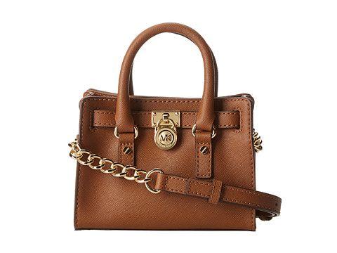 MICHAEL Michael Kors Hamilton 18K Mini Messenger Luggage - Zappos.com Free Shipping BOTH Ways | Small Purses n Bags | Pinterest | Products, Michael o\u0026#39;keefe ...