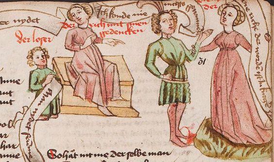 Wolfenbüttel, Herzog August Bibliothek,  Thomasin <Circlaere>   Welscher Gast (W) — Süddeutschland, 3. Viertel des 15. Jhs. Cod. Guelf. 37.19 Aug. 2° Folio 31r