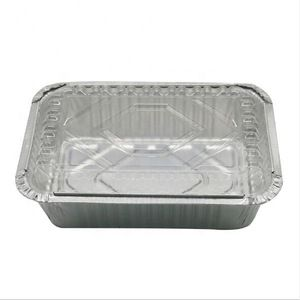 255 190 60mm 1750ml Disposable Aluminum Foil Pans Food Container