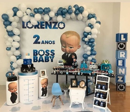 Pin By Luly Cordoba On Dominic S 1st Bday Baby Birthday Party