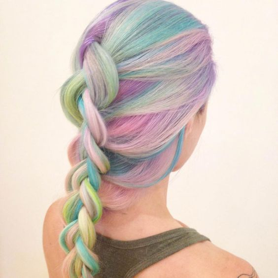 How-To: Rainbow Pastels | Modern Salon