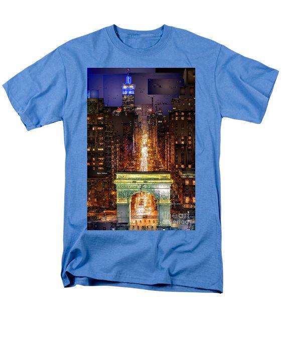 Men's T-Shirt (Regular Fit) - New York City Washington Square