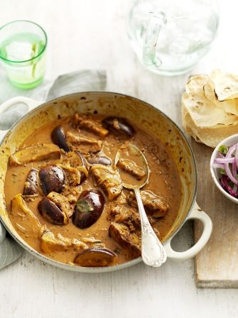 Spiced aubergine & coconut curry   Jamie Oliver