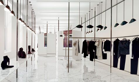 ::RETAIL:: Jil Sander store in NYC