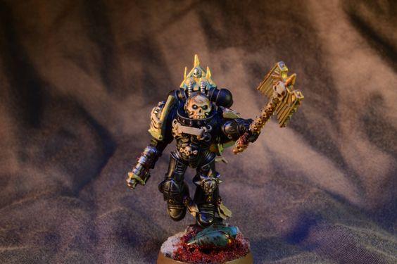 By the blood of Sanguinius! Blood Angels chaplain - Album on Imgur