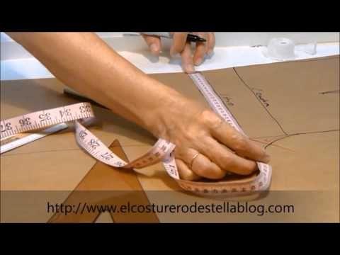 """Básico delantero del pantalón femenino- El costurero de Stella - YouTube. Excelentes instrucciones para evitar las """"arrugas"""" en el tiro delantero."""