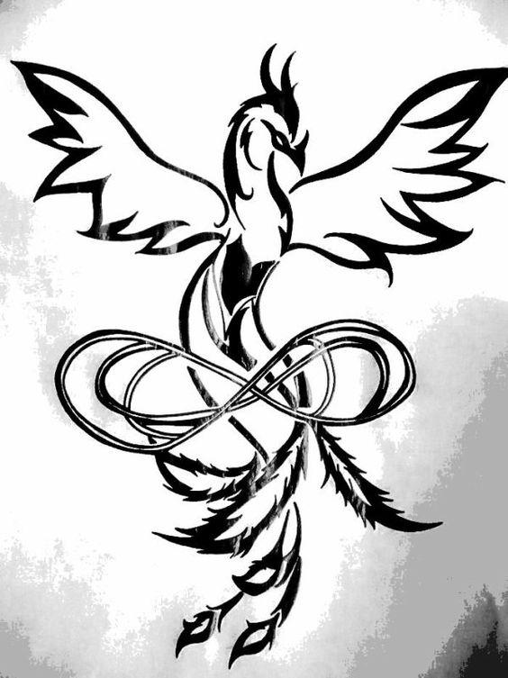 Le croquis ( fait par moi ♥ )  du tatouage que j'aimerais faire ♥
