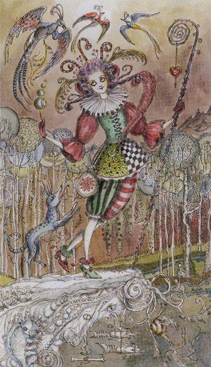 0. The Fool: Paulina Tarot