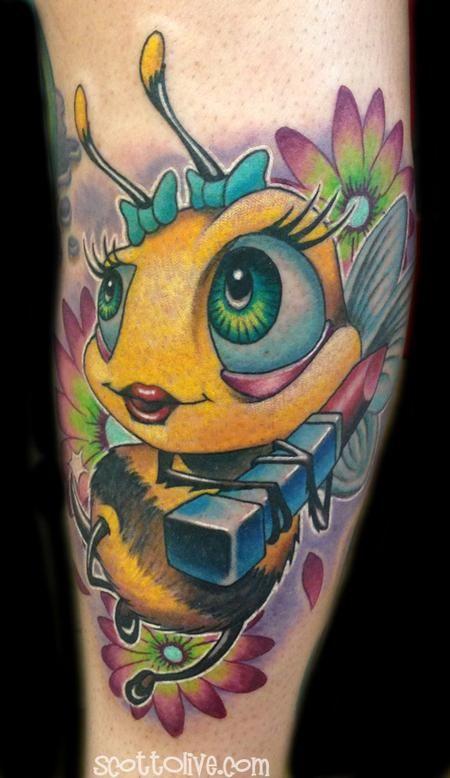 new school animal tattoo designs - Google Search | tattoo ...