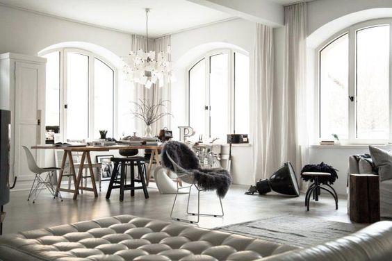 Una casa familiar con aires de loft en Alemania · V&CH