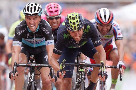 TOP 5 BICICLETAS DE CARRETERA: Alejandro Valverde última su puesta a punto en la ...