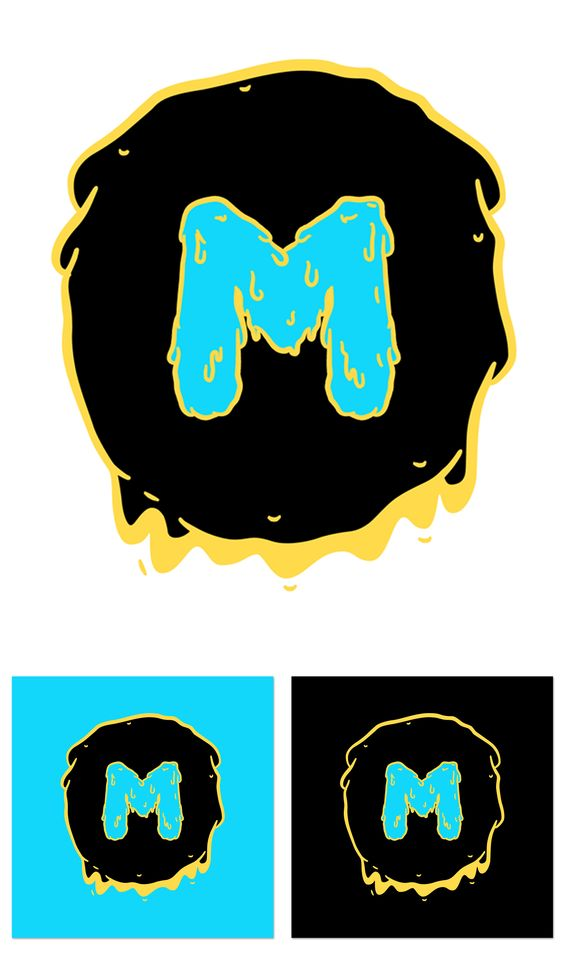 Diseño Logo + Aplicacion en distintos fondos