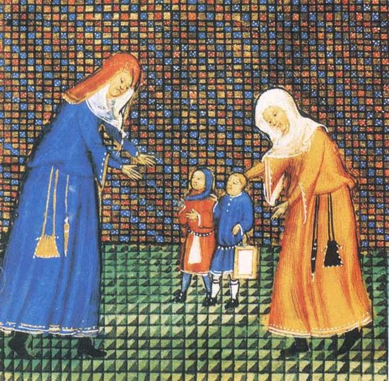 Livre des Vices et des Vertus , XVe siècle. Paris, BnF, département des Manuscrits, Français 20320, fol. 177v