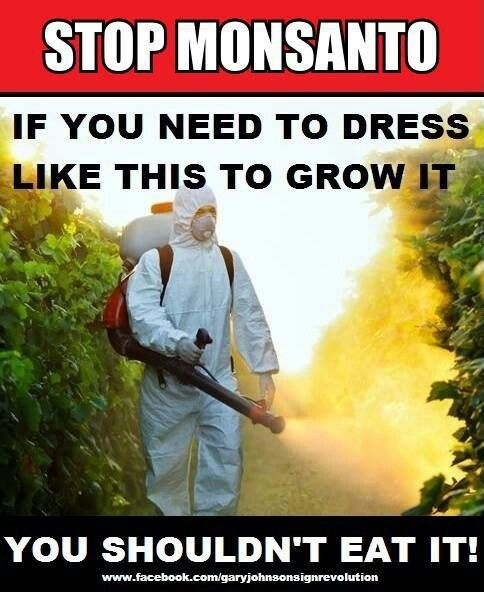 Be aware of the Monsanto ads that are promoted here on Pinterest! Say no to Monsanto! Say no to the monopolizing of crops! This is a very ugly corporation.