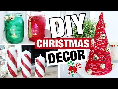 404 Diy Christmas Decor Easy Fast Diy Christmas Ideas Youtube Christmas Diy Diy Christmas Art Christmas Decor Diy