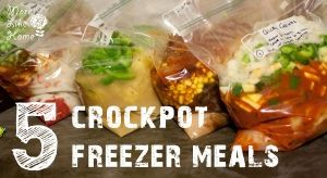 5 Crockpot Freezer Meals by GarJo12881