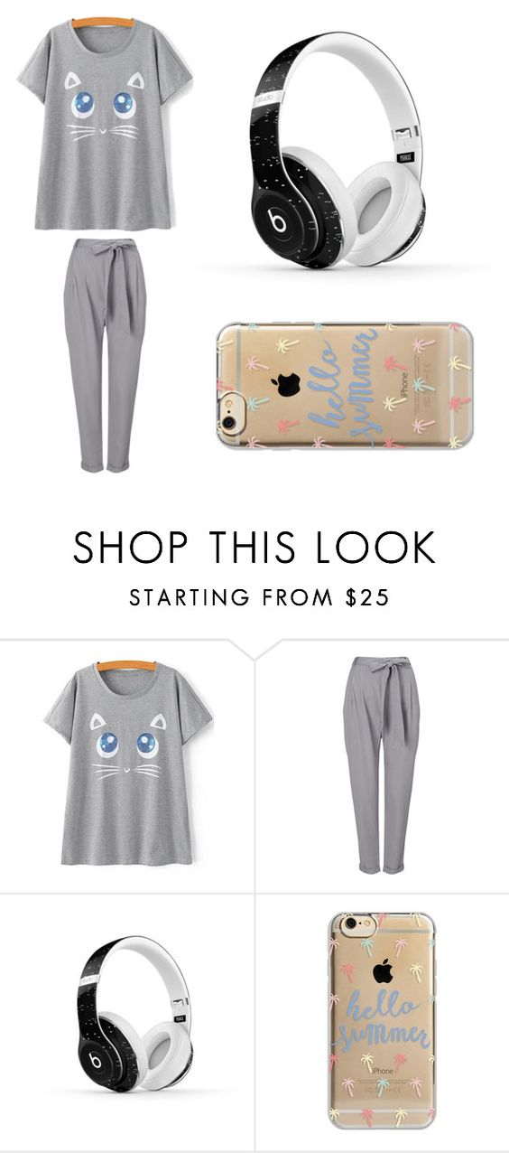 """My Saturday Morning"" by gamingwolf ❤ liked on Polyvore featuring Phase Eight, Beats by Dr. Dre and Agent 18"