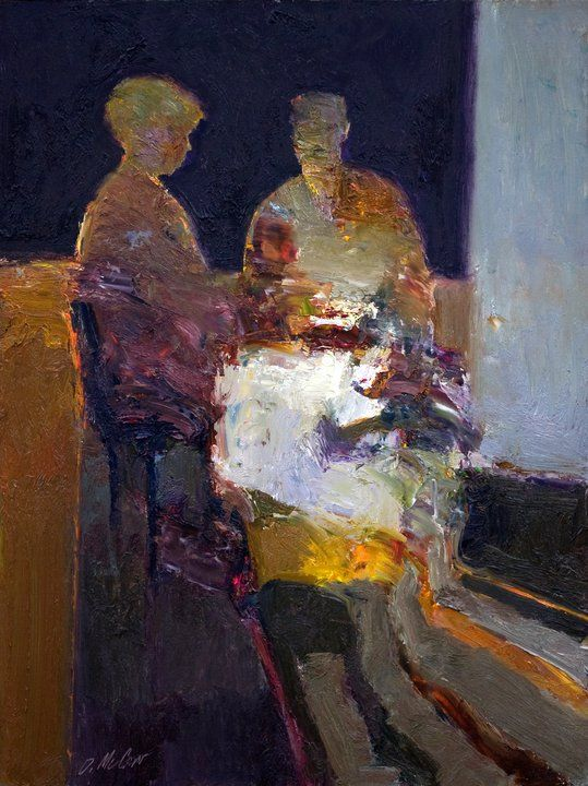 Maher Art Gallery: Dan McCaw 1942 | American expressionist painter