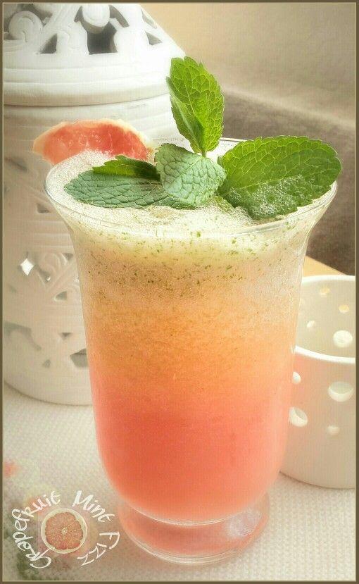 Selfmade Grapefruit Mint Fizz