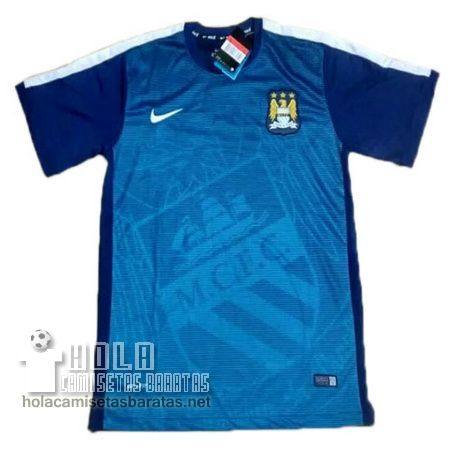 Camiseta Pre Match Azul Manchester City 2015-16  €20.9