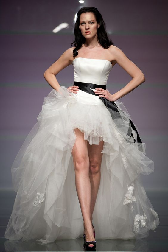 Daalarna Wedding Dress - Forever Collection on the Runway