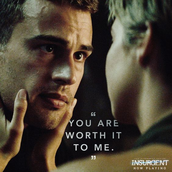 #FourTris is worth it to US!!! See their love unfold in theaters NOW: http://insur.gent/tix: