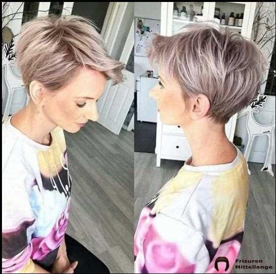 Bester Kurzer Feiner Frisuren Frauen 2019 Feine Frisuren Kurzhaarschnitte Pixie Haarschnitt