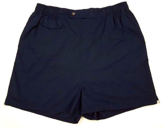 POLO Ralph LAUREN Blue SWIM Trunks 33 MENS Cotton BATHING Suit SHORTS Size WHITE #PoloRalphLauren #Trunks