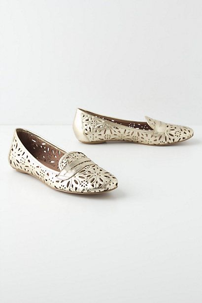Lasered Aster Loafers #anthropologie