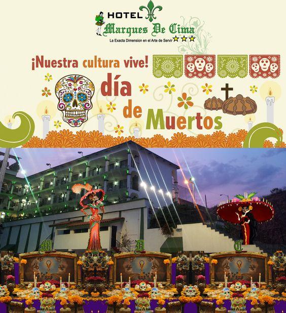 Feliz Dia de Muertos les desea Hotel Marques De Cima 2013