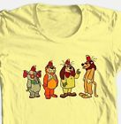 Banana Splits T-shirt retro 80's Saturday morning classic cartoon cotton tee