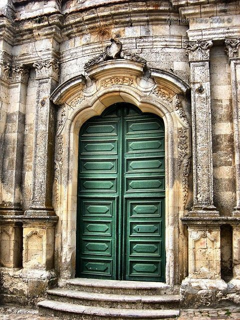 This looks like the door of the famous church in Ouro Preto, Brazil: