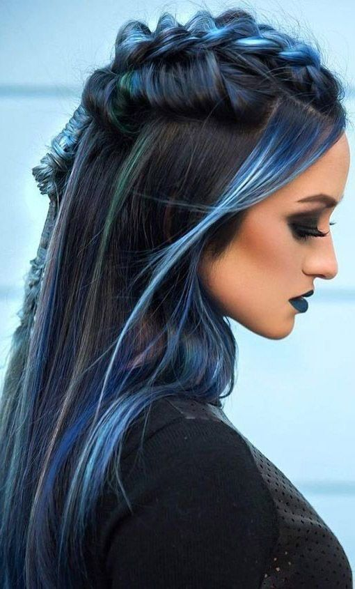 Top 33 Colored Hairstyles For Women 2018 Long Layered Hair Hair Styles Long Hair Styles