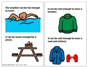 The weather informational text for special education for How to read a foundation plan