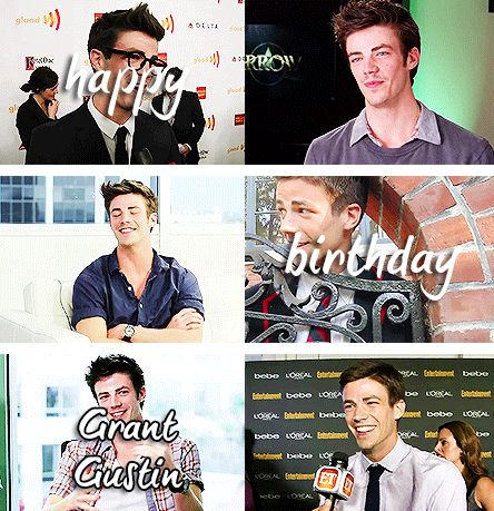 Image result for happy birthday grant gustin