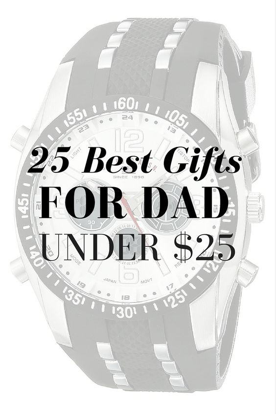 Best Gifts for Dad Under $25